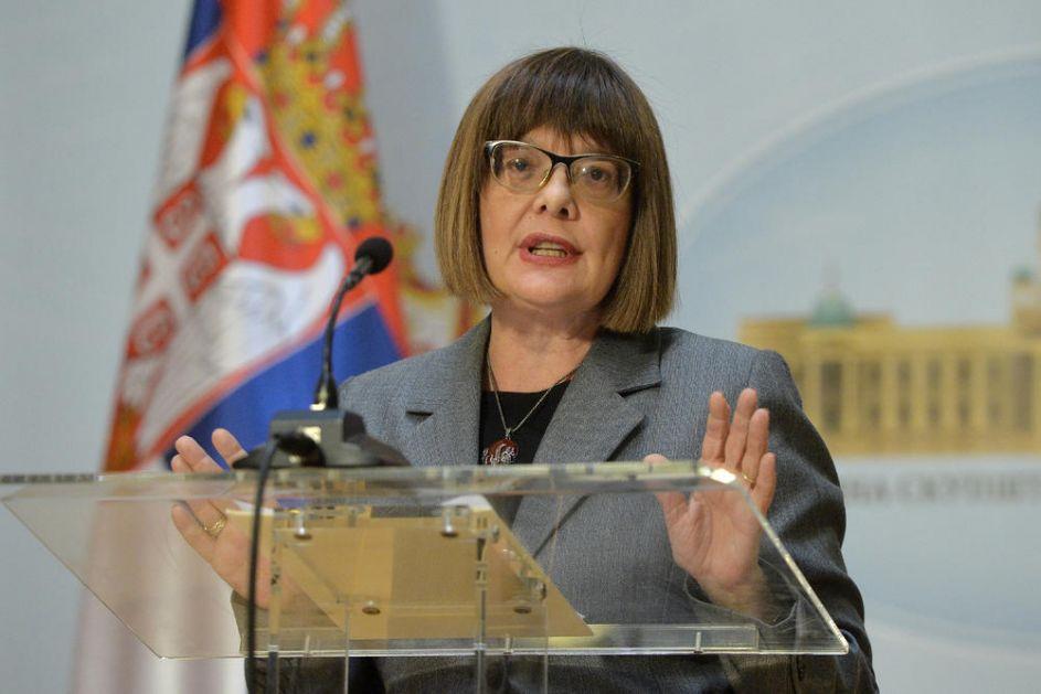 MAJA GOJKOVIĆ PORUČILA: Izborne radnje počinju 11. maja, a izbori će biti održani u roku!