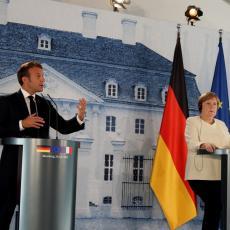 MAKRON I MERKELOVA NE ODUSTAJU OD PREGOVORA O KOSOVU: Očekuje se agresivan nemački pristup, u igri i SAD