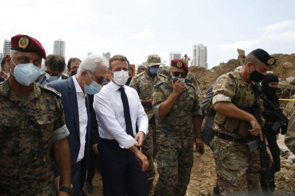MAKRON O POMOĆI POSLE EKSPLOZIJE U BEJRUTU: Moramo da delujemo brzo i efikasno, budućnost Libana je na kocki