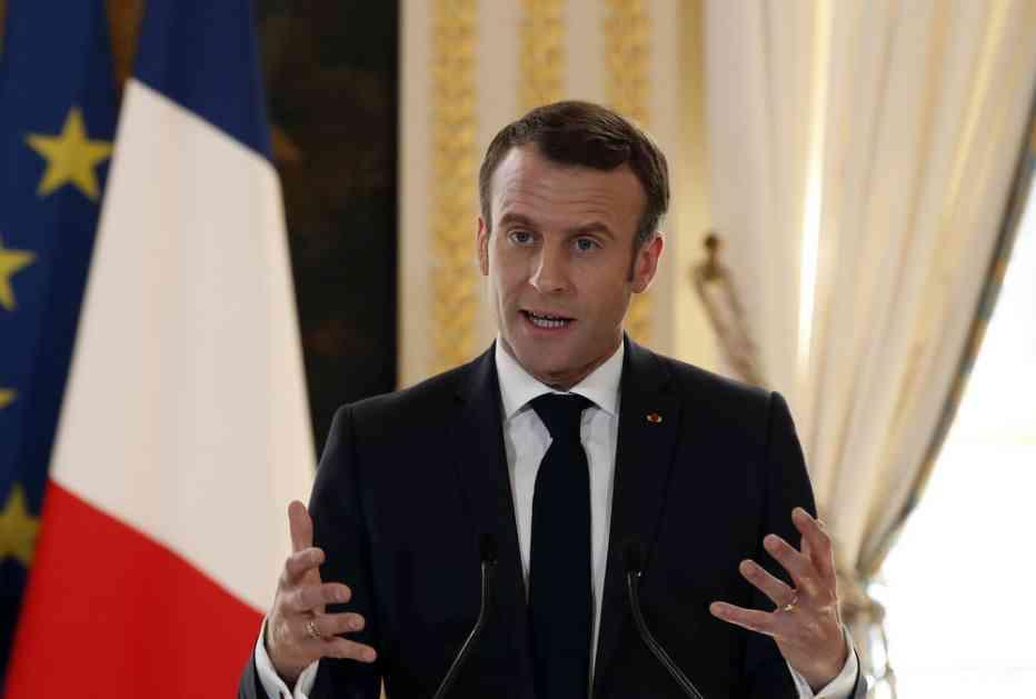 MAKRON PRAVI NOVU EVROPU: Francuski predsednik otkriva planove uoči izbora, evo šta predlaže!
