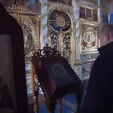 MANASTIR KOJI JE PUTIN OBNOVIO IZ PEPELA: Ruski predsednik posetio prelepu pravoslavnu građevinu (VIDEO)