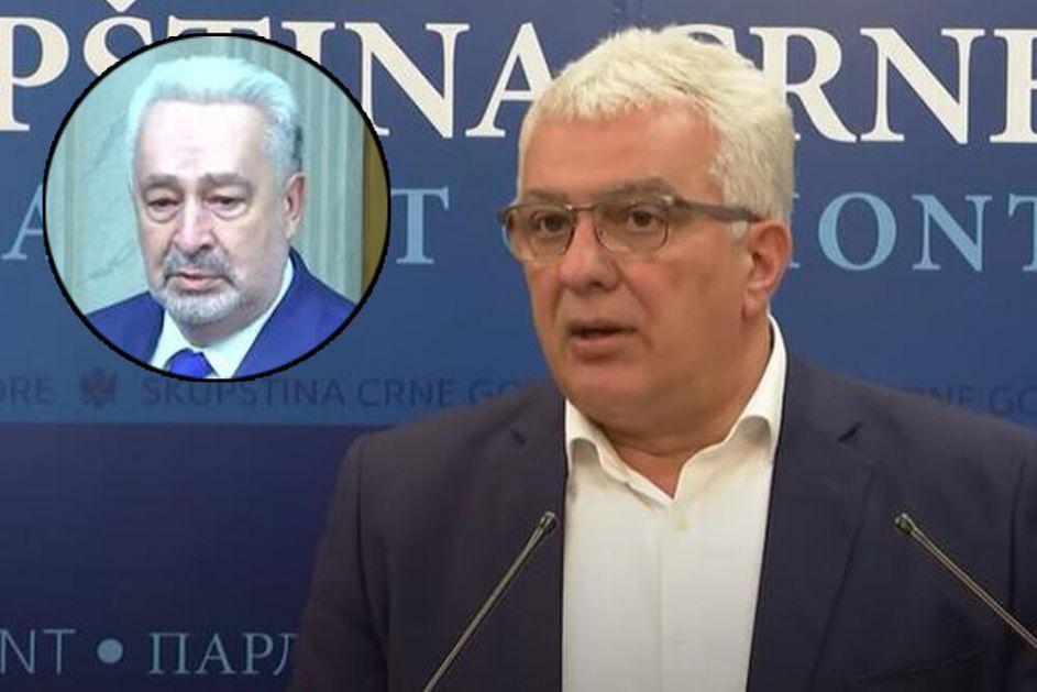 MANDIĆ: Iz Crkve su mi rekli da Krivokapić više nema njihovu podršku!