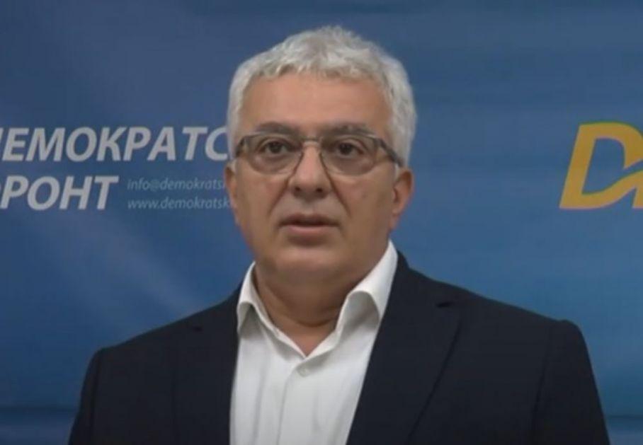 MANDIĆ O PREBIJANJU AKTIVISTE DF U NIKŠIĆU: Iza toga stoji direktno Milo Đukanović