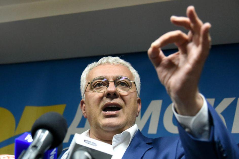 MANDIĆ: Proterivanje Božovića pokazuje stepen očajanja u kome je odlazeći režim u CRNOJ GORI!