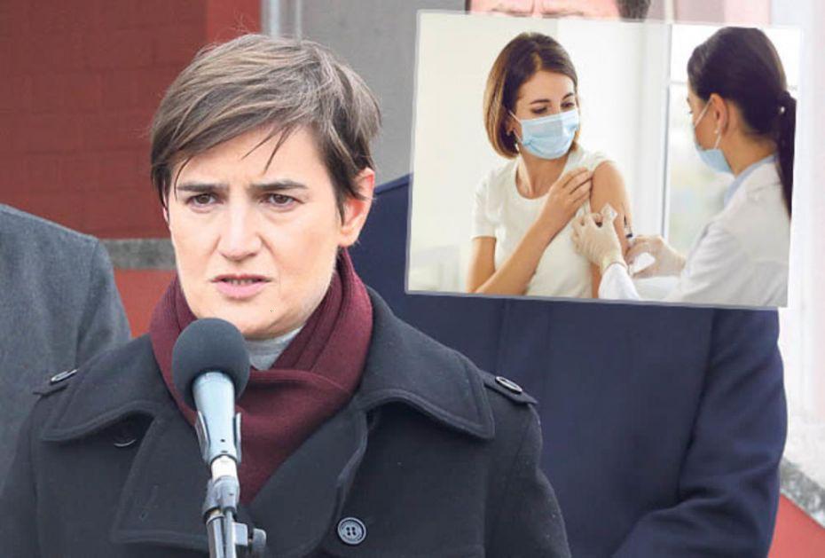 MASOVNA VAKCINACIJA KREĆE OD DANAS! Ana Brnabić: Molim prosvetare da se što više njih prijavi