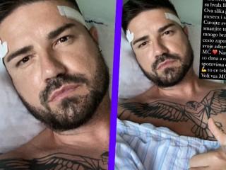MC Stojan bio životno ugrožen, pokazao fotografiju iz bolničke postelje