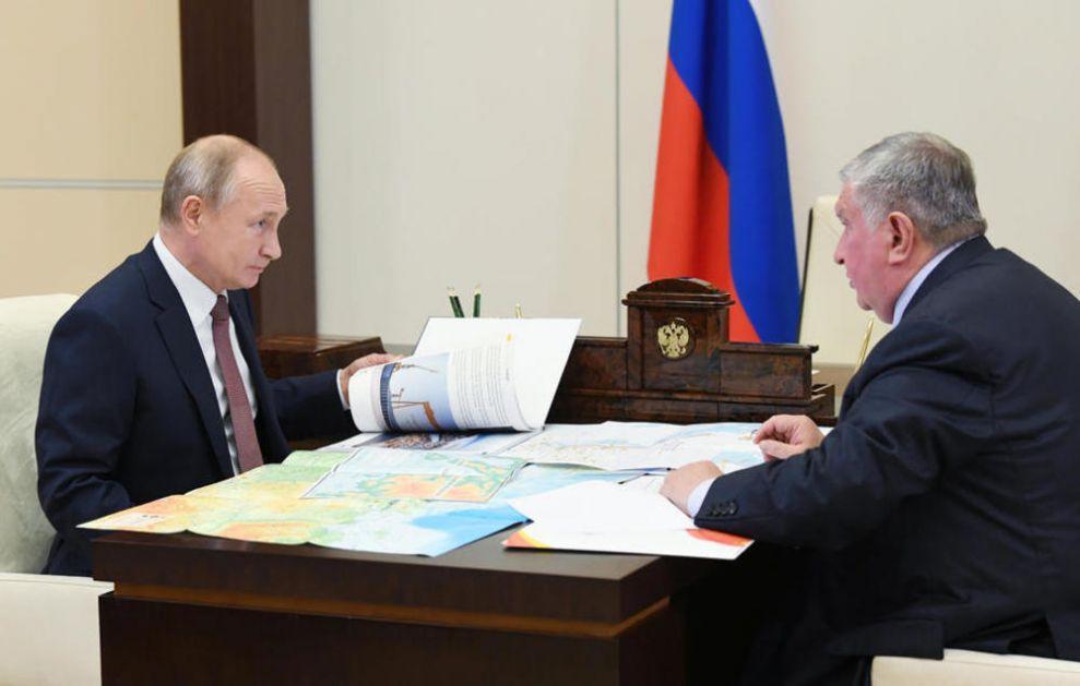 MEGA PROJEKAT DIŽE RUSIJU U NEBESA: Naftna kompanija ga najavila Putinu, za 400.000 radnika grade 15 radnih sela! (VIDEO)