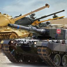 MELEM ZA OČI! NAJSUROVIJA OKLOPNA VOZILA SVAKE VOJSKE: Top 10 najboljih tenkova sveta