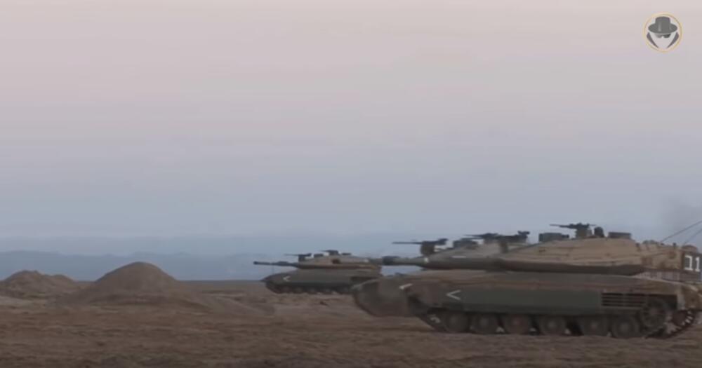 MERKAVA BORBENA KOČIJA IZRAELSKE VOJSKE: Udarna pesnica izraelskog oklopa na granici sa Gazom spremna za HAMAS!