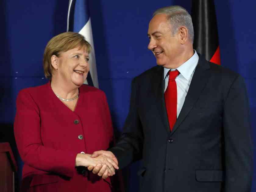 MERKELOVA I NETANIJAHU: Iranu se ne sme dozvoliti nuklearno oružje! Nemačka i Izrael imaju isti stav ali i različite puteve do tog cilja!