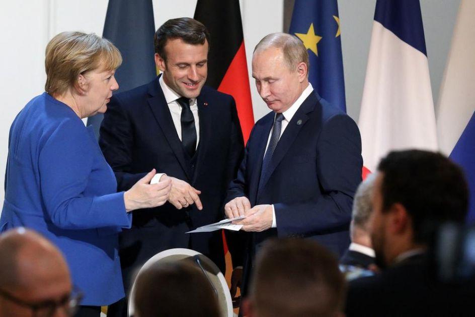 MERKELOVA PORUČULA PUTINU POSLE SASTANKA U PARIZU: Danas si ti pobedio!
