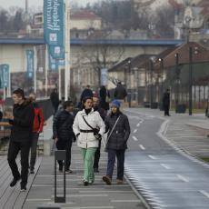 METEOROLOZI UPOZORAVAJU! U Srbiju stižu SNAŽNI UDARI KOŠAVE, temperature naglo u porastu