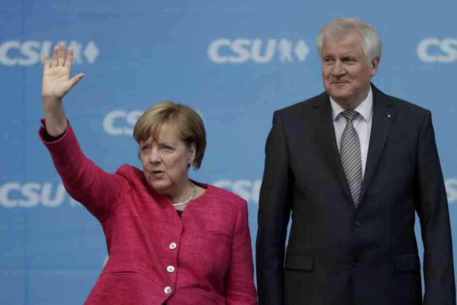 MIGRANTI CEPAJU NEMAČKU VLADU: Zehofer traži ČVRSTU RUKU, Merkelova ne odustaje od OTVORENIH VRATA