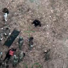 MIGRANTI ZALUTALI U MINSKO POLJE, JEDAN POGINUO: Antiteroristička jedinica digla helikopter da spasi ostale(VIDEO)
