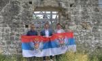 MILAČIĆ U SVETINjI KOD ULCINjA: Džaba mašete zastavama tzv. OVK i Albanije (FOTO/VIDEO)