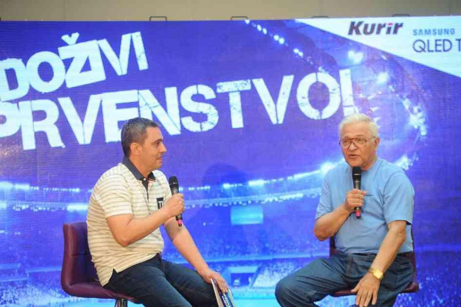 MILAN ŽIVADINOVIĆ PRED MUNDIJAL: Srbija može u polufinala, nadam se da u Moskvu sa ekipom nisu hoštaplerti, barabe, prišipetlje... (KURIR TV)