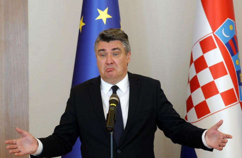 MILANOVIĆ NA UDARU ZBOG NAPUŠTANJA SKUPA U ZADRU: Ne prestaju da pljušte kritike od strane HOS-ovaca i pojedinih hrvatskih medija