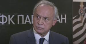 MILORAD VUČELIĆ: 'Da sušne godine zamenimo plodnim! Živeo Partizan i napred Partizan'