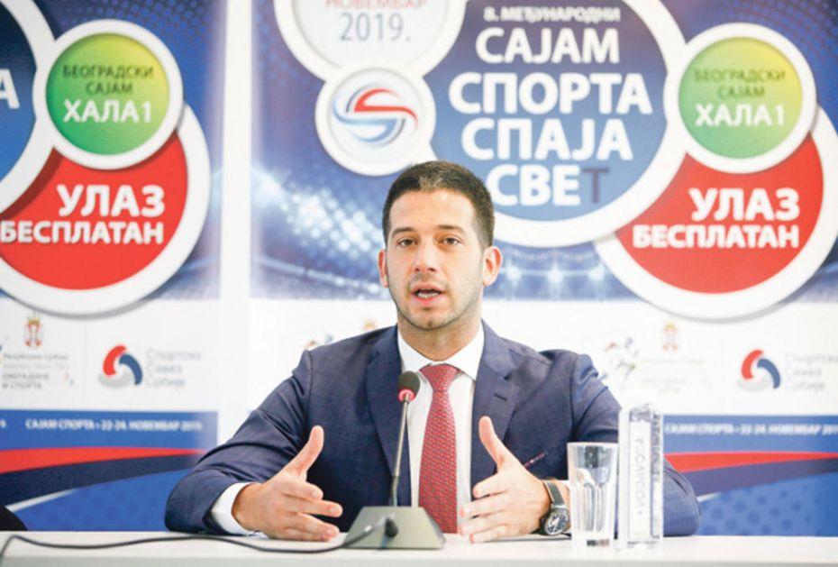 MINISTAR VANJA UDOVIČIĆ: Dobijanje SP u atletici je veliko priznanje za Srbiju