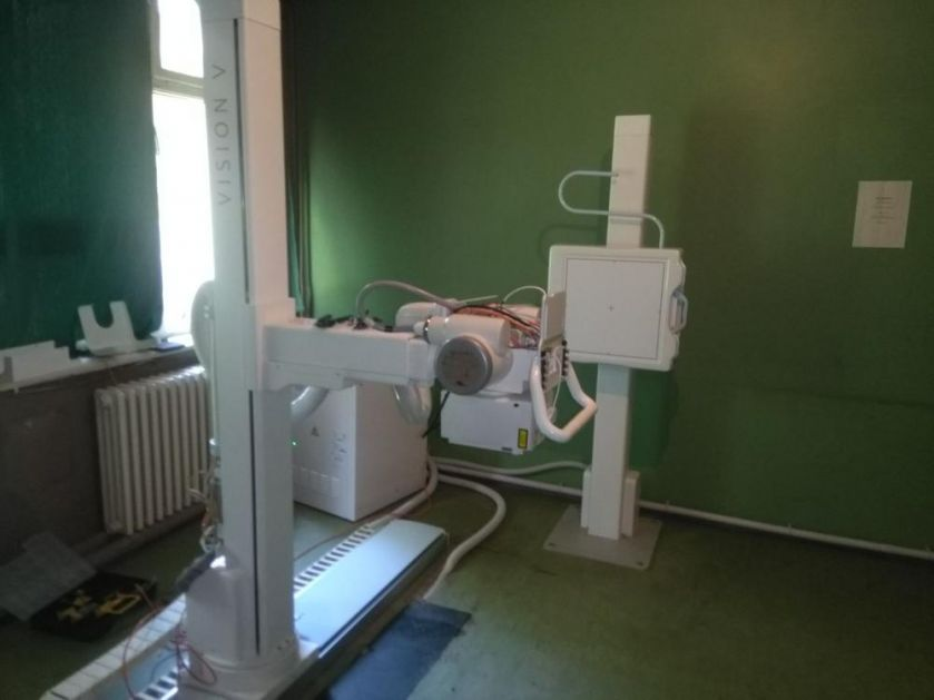 MINISTARSTVO ZDRAVLJA OBEZBEDILO: Novi rendgen aparat u ATD-u u Vranju (FOTO)