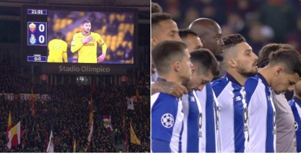 MINUT APLAUZA ZA SALU: Dueli Lige šampiona počeli odavanjem pošte stradalom fudbaleru (VIDEO)