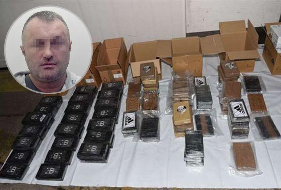 MIODRAG I. UHAVĆEN SA SKORO 100 KG KOKAINA U BRITANIJI: Vozaču kamiona 11 godina zatvora zbog droge vredne oko 7 MILIONA funti!
