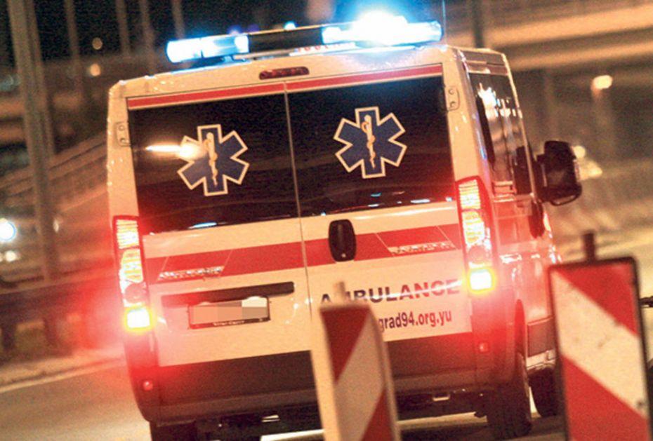 MIRNA NOĆ U BEOGRADU: Dvoje povređenih u dva udesa noćas u Beogradu