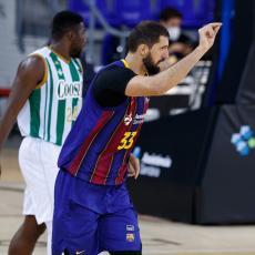MIROTIĆ JOŠ JEDNOM POKAZAO SVOJU VELIČINU: Košarkaš Barselone donira 500 evra za svaku pogođenu trojku