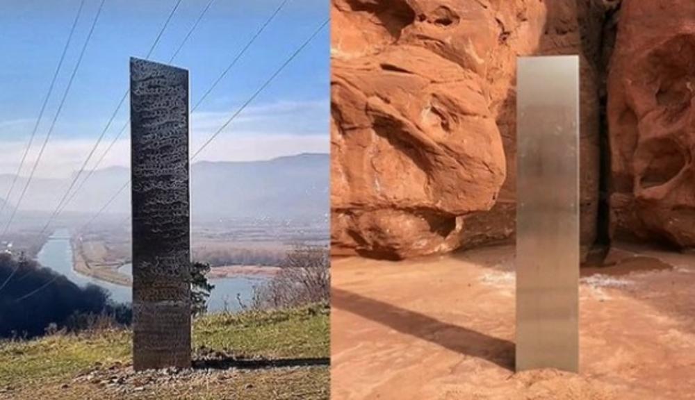 MISTERIJA POSTAJE SVE VEĆA: Metalni monilit u Rumuniji, poput onog u SAD, nestao u tajnosti isto kao što se i pojavio! (VIDEO)