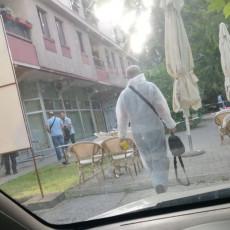 MLADIĆ UPUCAN - ČAČAK CENTAR HAOSA: Maskirani napadač pobegao sa lica mesta, ranjeni dečko već jednom bio IZBODEN