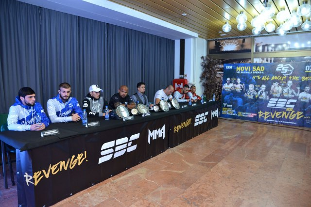 """MMA borci u SPENS-u: Iz """"vatrenog ringa do zvezda"""