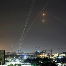 MOĆ GVOZDENE KUPOLE Pogledajte kako izraelska vojska odbija raketni napad u Tel Avivu (FOTO/VIDEO)