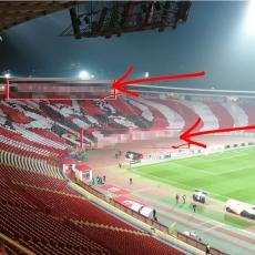 MOĆNO: Svi su videli KOREOGRAFIJU na SEVERU za Slovan, a onda su DELIJE DODALE dve jake poruke (FOTO)