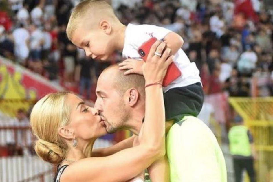 MOJ SINE TI PONOSAN BUDI: Pogledajte prvu reakciju Snežane Borjan, supruge Zvezdinog heroja Milana FOTO