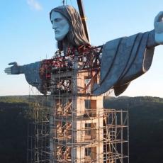 MONUMENTALNI SPOMENIK HRIŠĆANSTVU: Brazilci grade novu glomaznu statuu Isusa Hrista (VIDEO)