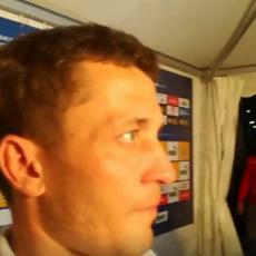 MORAO JE DA SE NASMEJE: Ilić pričao o poslednjoj utakmici i trofeju, a onda mu je Milijaš nešto dobacio (VIDEO+FOTO)
