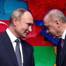 MOSKVA RASKRINKALA ERDOGANA: Takvi navodi ne promovišu mirno rešavanje i deeskalaciju sukoba