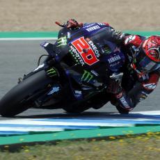 MOTO GP: Kvartararu pol pozicija pred Veliku nagradu Španije (FOTO)