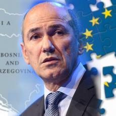 MUK POSLE DOKUMENTA KOJI JE UZDRMAO EVROPU! Iz kabineta Janše bez komentara o non-pejperu za Zapadni Balkan (FOTO)