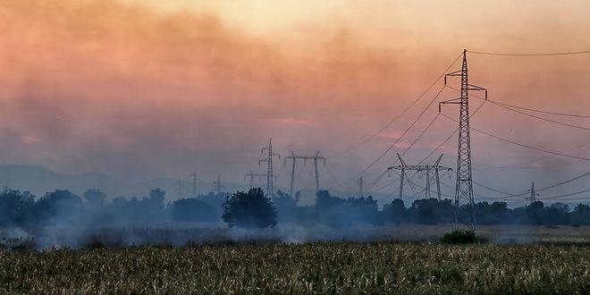 MUP apeluje na građane da ne spaljuju nisko rastinje na otvorenom prostoru