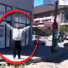 NASRNUO I POVREDIO POLICAJCA POSLE PRETNJI Evo ko je muškarac koji je vikao ALAHU AKBAR - odmah odveden u USTANOVU