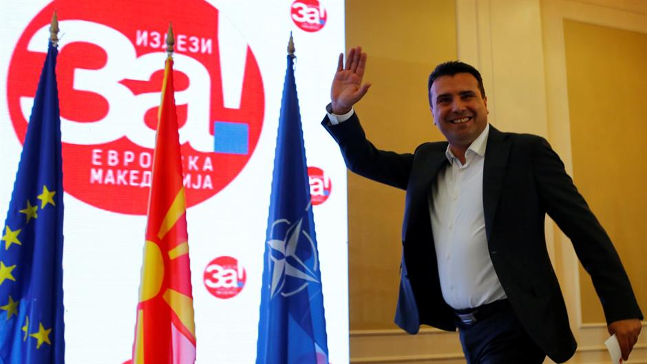 Macedonia's PM to talk with opposition on name change