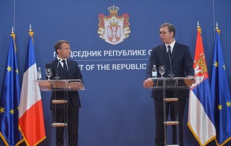 Macron: Ne bi bilo dobro da Srbija previše brzo uđe u EU