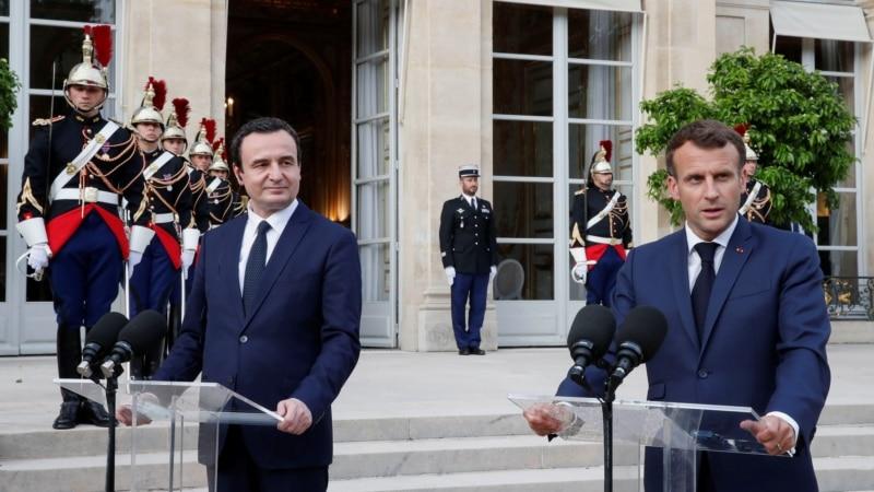 Macron s Kurtijem: Srbija i Kosovo da pronađu kompromisno rešenje