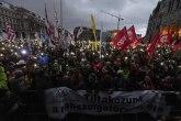 Mađari na ulicama, protest zbog robovskog zakona
