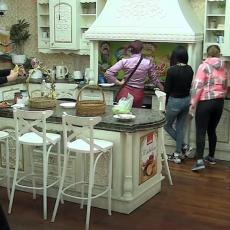 Mahala NOŽEM I URLALA: Pakao u kuhinji Parova! Takmičarka ZVERSKI napala cimerku! (VIDEO)
