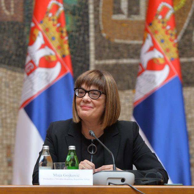 Maja Gojković osudila nasilni upad u Narodnu skupštinu