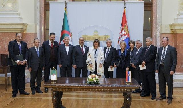 Maja Gojković sa učesnicima Skupštine Interparlamentarne unije