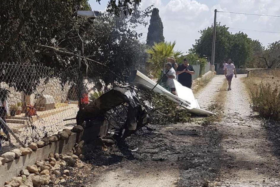 Majorka: U sudaru aviona i helikoptera stradalo pet osoba