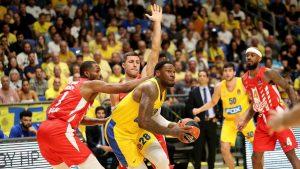Makabi naneo drugi poraz Crvenoj zvezdi u košarkaškoj Evroligi